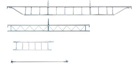 トラス、梯子、筋交